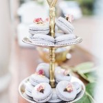 Delicately pretty treats from dearmacaron! Photography kaitbaileyphoto   Eventhellip